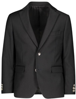 Boy's Solid Blazer