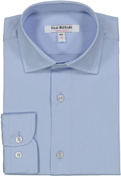 Boy's Blue Dress Shirt
