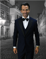 Statement | Alberto 3-Piece Modern Tuxedo Suit