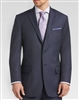 Baroni Herringbone Navy Modern Fit Suit