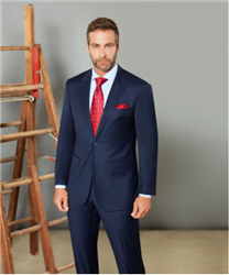 Baroni Solid Blue Suit Modern Fit