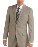 Baroni Solid Sand Suit Modern Fit