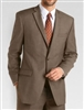 Baroni Sharkskin Brown Suit Modern Fit