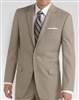 Baroni Sharkskin Tan Suit Modern Fit