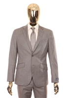 Berragamo Sharkskin Modern Fit Tan
