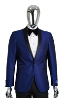 Berragamo Fancy  Shawl Tuxedo Slim Fit