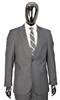 Berragamo Solid Light Grey 2 Piece Suit Modern Fit