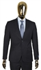 Berragamo Solid Navy 2 Piece Suit Modern Fit