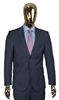 Berragamo Solid New Blue 2 Piece Suit Modern Fit