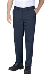 Berragamo Solid Navy Slim Pants