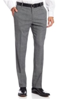 Berragamo Solid Medium Grey Modern Pants