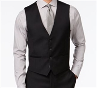 Berragamo - Solid Black Vests