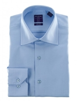 Christopher Lena Light Blue Slim Fit Shirt