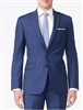 Calvin Klein Solid Blue -X-Fit Slim Suit