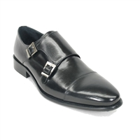 Carrucci Calfskin Double Monk strap - KS099-302