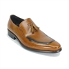 Carrucci Calfskin Loafer Shoe - KS099-714
