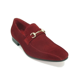 Carrucci Suede Loafer Shoe - KS308-08B2S