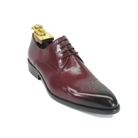 Carrucci Calfskin Perforated Shoe - KS479-04