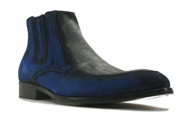 Carrucci Two Tone Suede Chelsea Boots