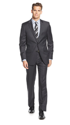 DKNY - Solid Charcoal Slim Fit Suit