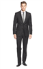 DKNY - Solid Black Slim Fit Suit