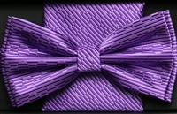 Steven Land Big Knot Fancy Lavender Bowties