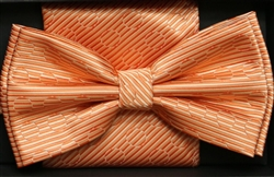 Steven Land Big Knot Fancy Coral  Bowties