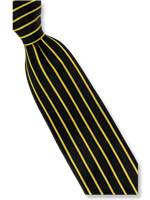 Steven Land Fancy Yellow Stripe Tie