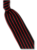 Steven Land Fancy Red Stripe Tie