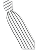 Steven Land Fancy Black Stripe Tie