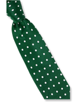 Steven Land Green Polka Dots Tie