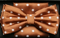 Steven Land Big Knot Fancy Bronze Bowties
