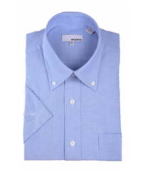 Modena - Light Blue Classic Fit Dress Shirt