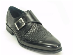 Carrucci Woven Buckle Loafer
