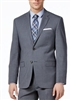 Ralph Lauren 100% Natural Wool Solid Medium Grey Suit Modern Fit