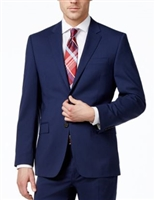 Ralph Lauren 100% Natural Wool Solid Navy Suit Modern Fit