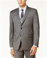 Big & Tall Ralph Lauren - Lexington Grey Windowpane Suit
