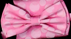 STEVEN LAND | HD BOW TIE | PRE- TIED | TONAL BOW | PINK