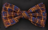 STEVEN LAND | HD BOW TIE | PRE- TIED | MULTI DIMENSIONAL BOW TIE | BROWN