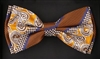STEVEN LAND | HD BOW TIE | PRE- TIED | BOLD PAISLEY BOW TIE | RUST