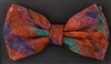 STEVEN LAND | HD BOW TIE | PRE- TIED | BOLD PLAID BOW TIE | RED