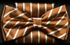 STEVEN LAND | BASIC COLLECTION BOW TIE AND HANKY SET | TAN