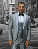 Statement | Look 3-Piece Modern Tuxedo Suit