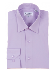 Modena - Lavender Contemporary Fit Dress Shirt