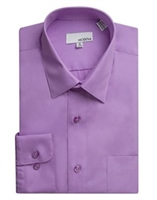 Modena - Purple Slim Fit Dress Shirt