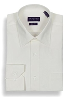 Modena - Eggshell Slim Fit Dress Shirt