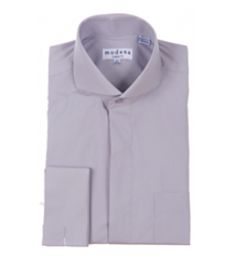 Modena - Gray Classic Fit Dress Shirt