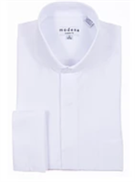 Modena- White French Cuff Cutaway Shirt