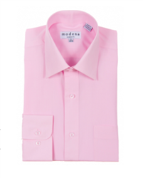 Modena - Pink Classic Fit Dress Shirt