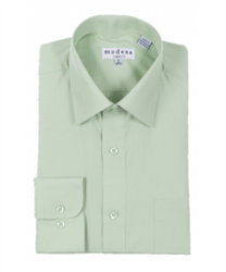 Modena - Sage Classic Fit Dress Shirt